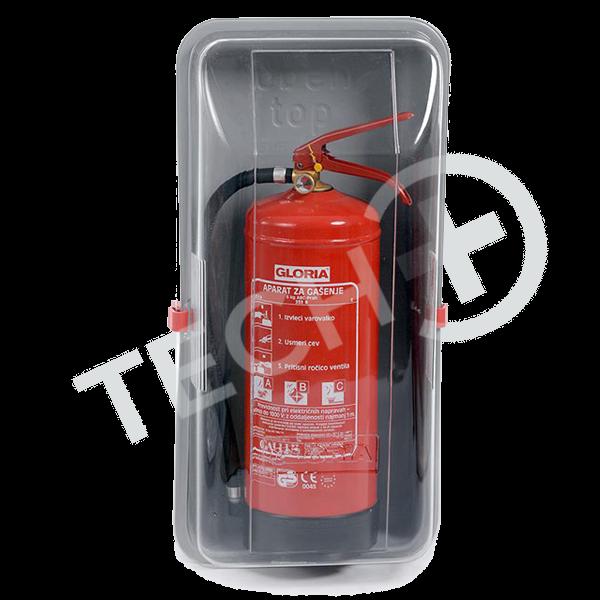 Zaščitna omarica za gasilni aparat